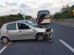 Incidente maggio 2017 auto bus