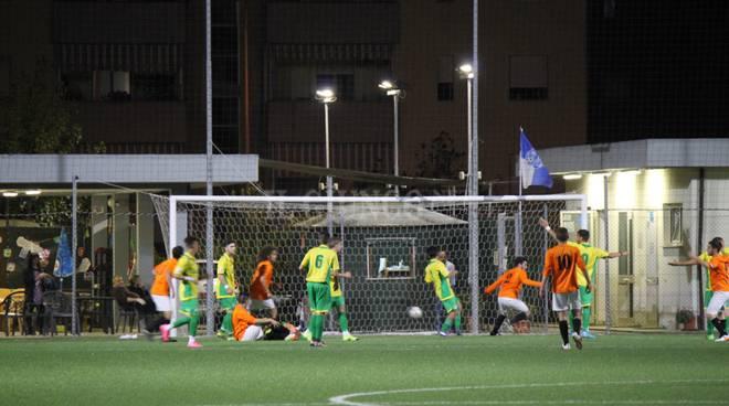 Juniores Gavorrano-Paganico azione gol