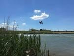 Kitesurf fiume