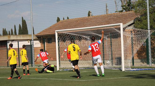 Montiano-Ribolal finale playoff gol Smajli