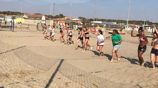 Beach Handball campo estivo