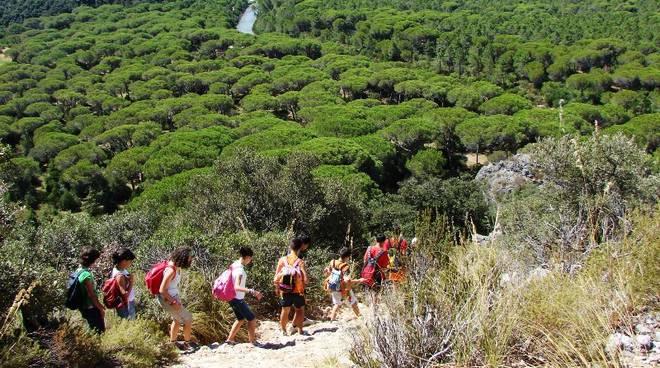 campi estivi Parco della Maremma trekking