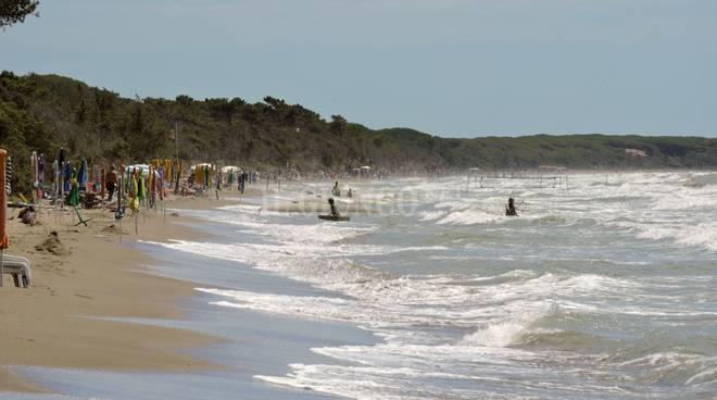 Erosione spiaggia Giannella Osa Albegna