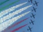 Frecce tricolori prove