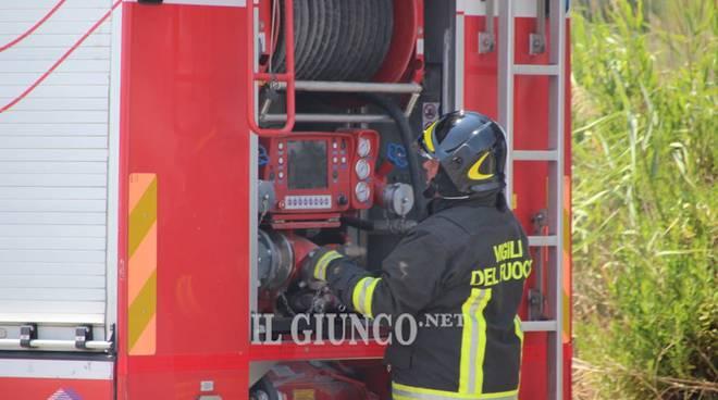 incendio emi 23 giugno 2017 diversivo