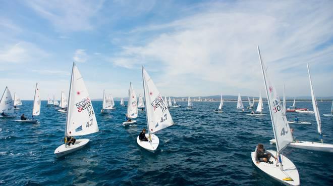 Italia Cup Laser vela
