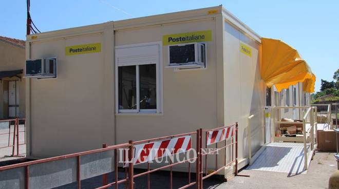 Un milione per il nuovo ufficio postale da domani parte for Container ufficio usati