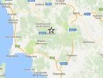 Terremoto Montieri giugno 2017