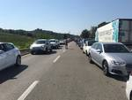Coda auto fila traffico Senese