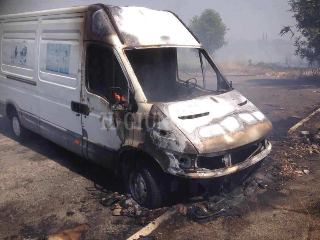 Incendio alle porte della città: fiamme a Grosseto nord