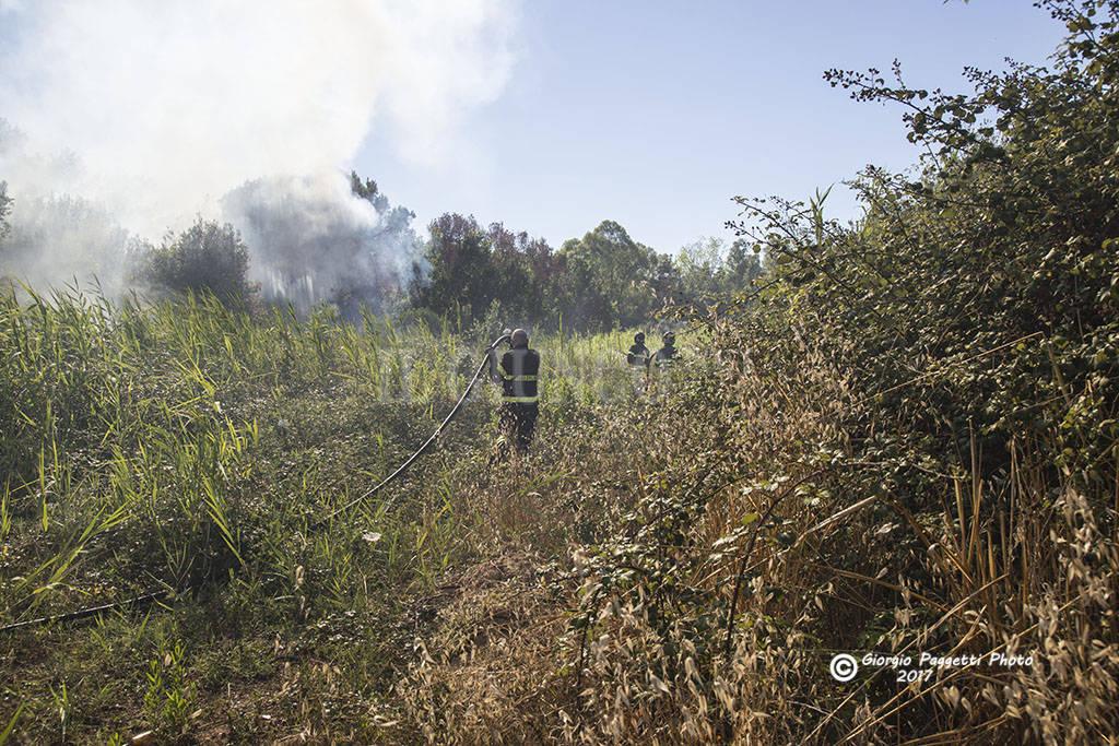Incendio Pratoranieri 2017