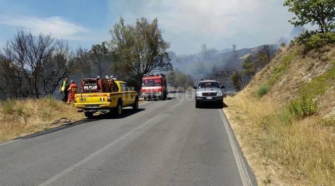 Incendio Selevena 2017