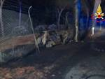 Incidente 3 morti carbonizzati