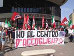 sit-in CasaPound migranti