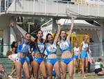 Staffettisti in finale, 4x100 donne