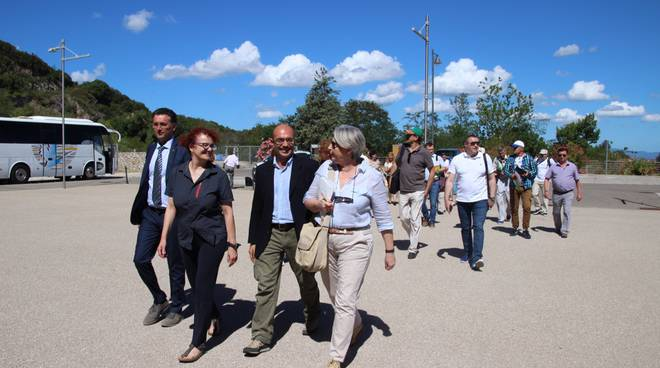 Visita delegazione Moldavia Parco Colline Metallifere