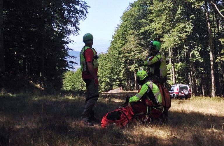 Biker  feriti sul Monte Amiata  22 agosto 2017