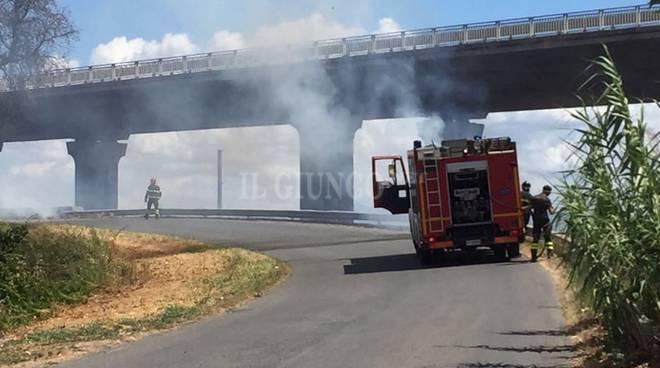 Incendio San Martino 11 agosto 2017