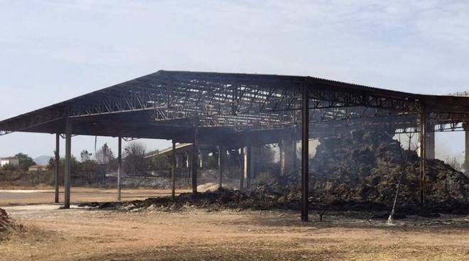 Incendio San Martino