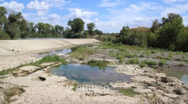 Ombrone siccità 2017