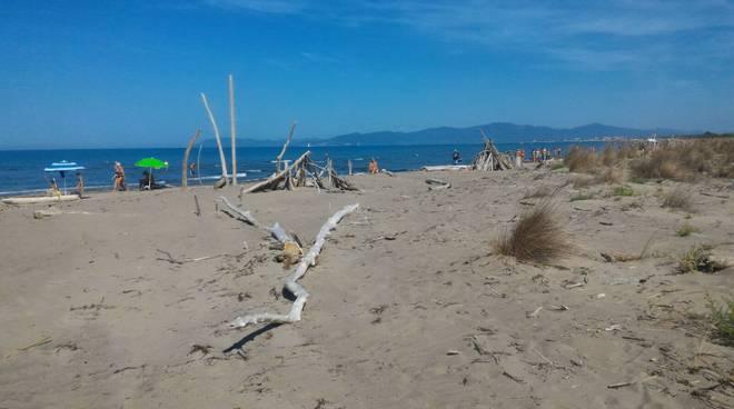 spiaggia principina parco della maremma