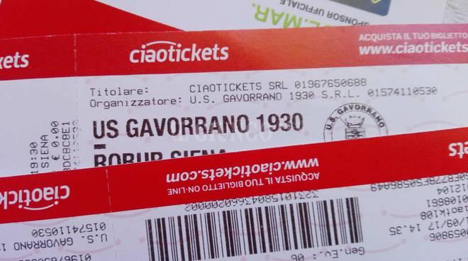 Biglietti Gavorrano