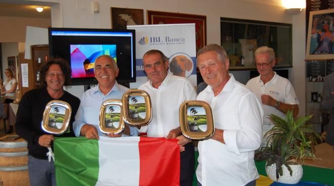 campionati internazionali Seniores e Ladies d'Italia