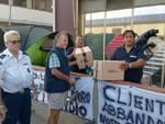Securpol consegna pacchi Anteas