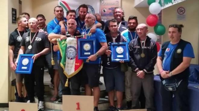 Surfcasting - Campioni italiani