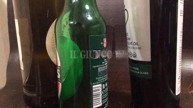 bottiglie vetro vuoto a rendere