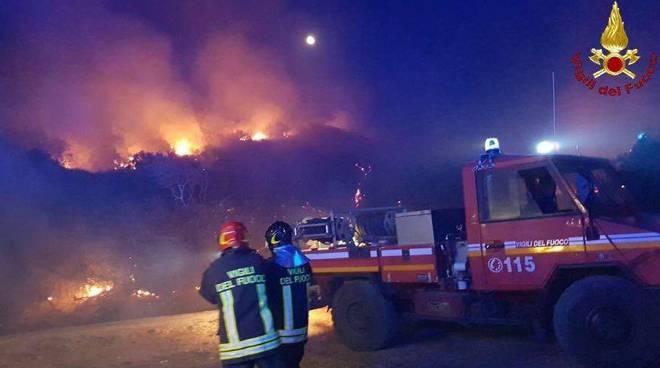 Incendio Talamonaccio