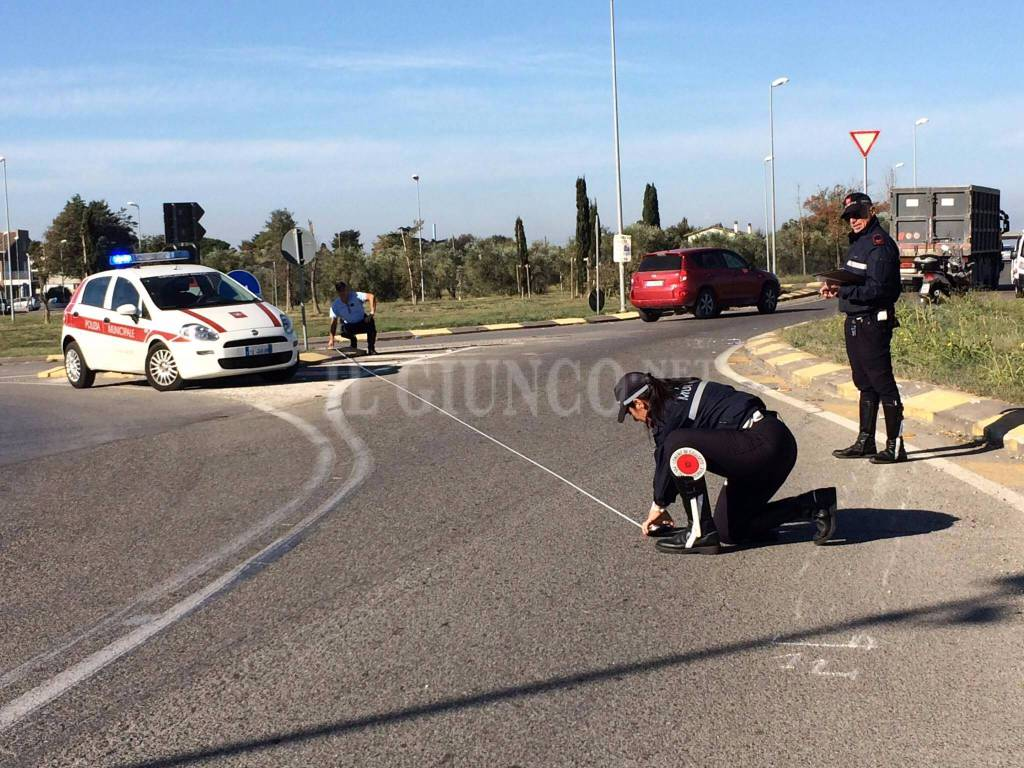 Incidente rotatoria San Martino