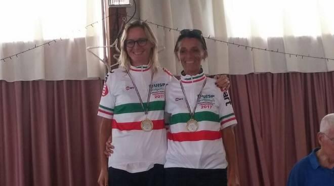 Maria Luisa Cartocci ed Elena Macii
