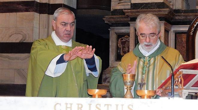 giornata dei poveri vescovo rodolfo e don enzo capitani