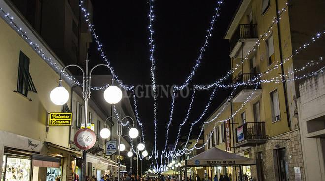 Luminarie luci di Natale