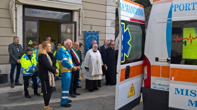 nuova ambulanza Misericordia