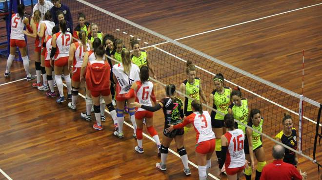 Volley Grosseto saluti finali