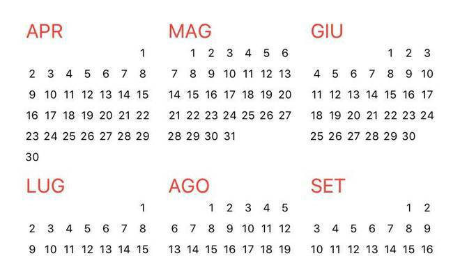 Cerca Calendario.Addio Ponti E Mini Vacanze Il 2018 Sara Un Anno Difficile