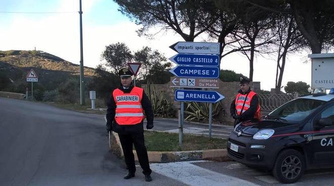Carabinieri controlli 2017