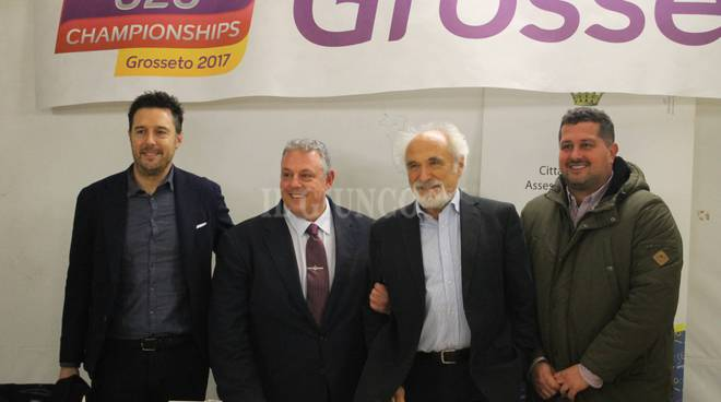 "Conferenza stampa ""L'atletica a Grosseto"" 11/12"