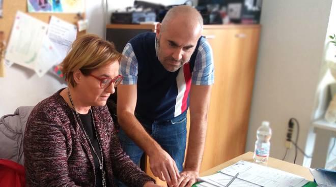 Donatella Leoni e Michele Ranieri
