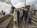 inaugurazione ferrovia treno Monte Antico