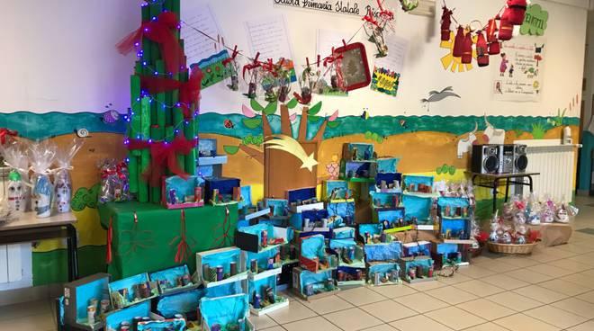 Lavoretti di natale e rifiuti riciclabili a scuola pi for Lavoretti di natale 2017