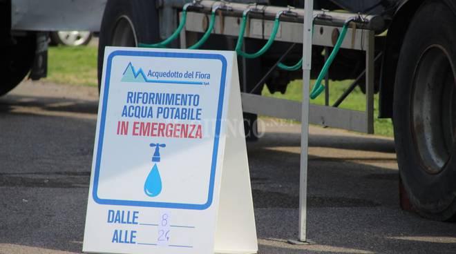 Autobotti emergenza idrica 2018 Acquedotto