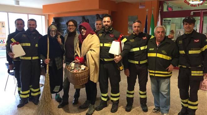 befana vigili del fuoco 2018