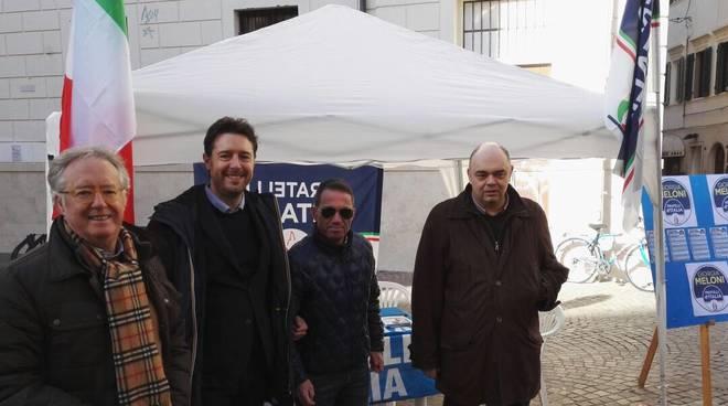 Fratelli d'Italia gazebo 2018