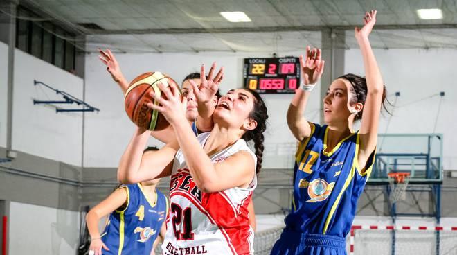 gea basket femminile Cazzuola