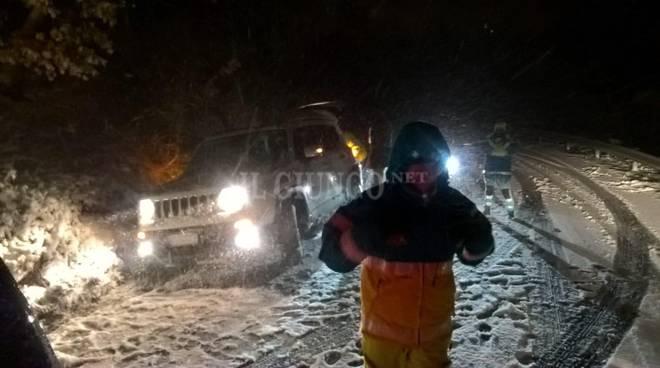 Emergenza neve Manciano