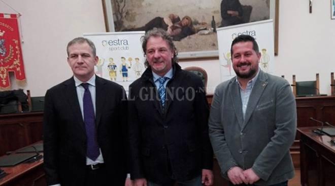 Estra sponsor 2018 Us Grosseto