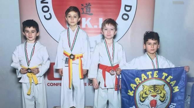 "Karate ""Tana delle tigri"""